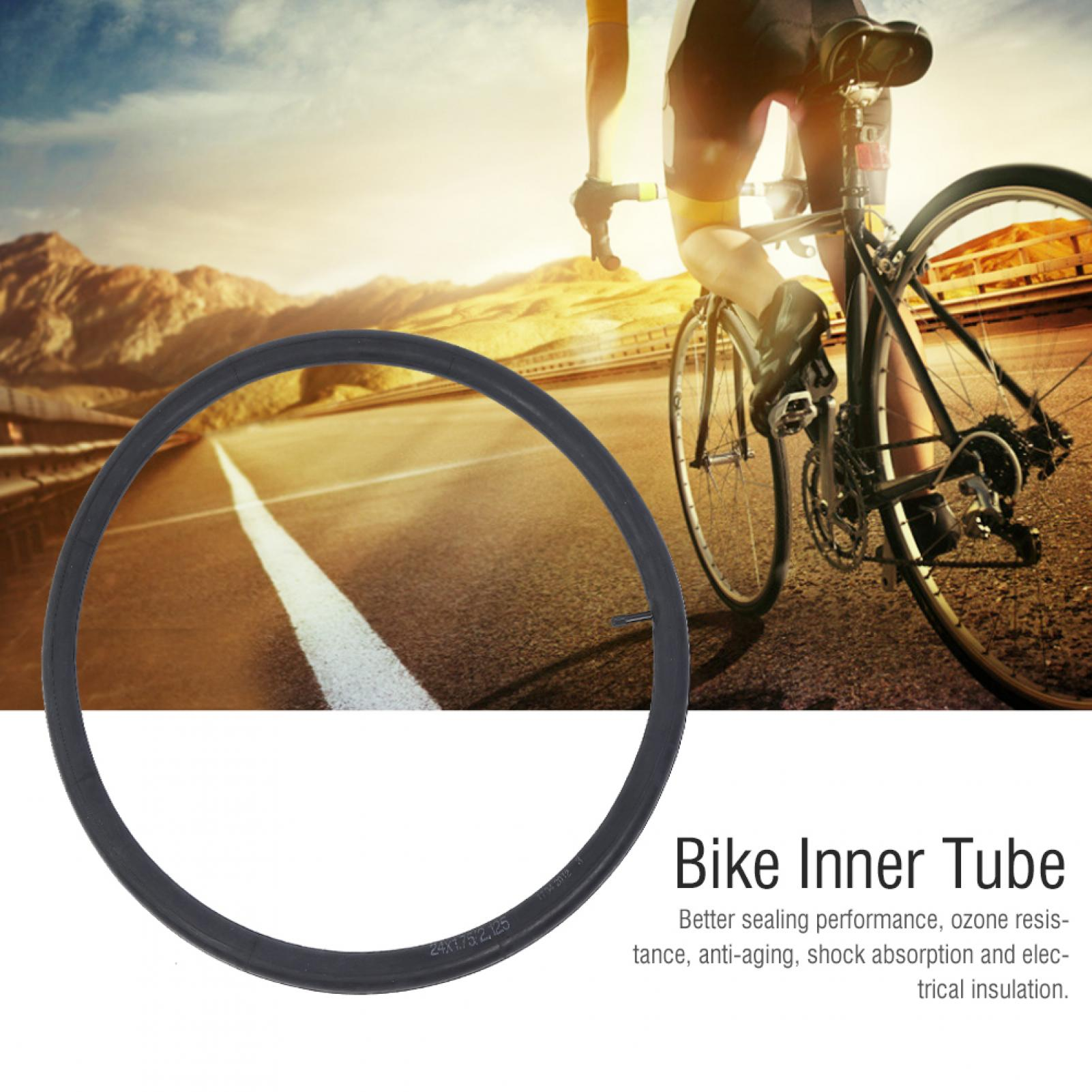 Details about  /Bicycle Inner Tube Mountain Bike Inner Tire Rubber Bike Accessories