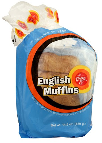 Ener-G English Muffins Gluten Free 14.8 oz by Ener-G
