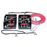 Taylor Wire / Vertex 48500 TAY48500 BATTERY RELOCATOR KIT -SIDE BY SIDE DUAL MOUNT