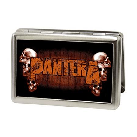 Pantera metal multi use wallet business card holder skulls pantera metal multi use wallet business card holder skulls weathered reheart Gallery