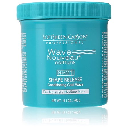 Wave Nouveau Coiffure Shape Release, Normal, Softens hair to the desired straightness leaving hair feeling soft By SoftSheen (Wave Nouveau Shape)