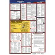 JJ KELLER 300-MD-1 LaborLaw Poster,Fed/STA,MD,ENG,26inH,1yr