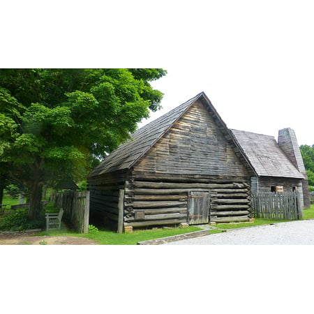 Weathered Plank - LAMINATED POSTER Plank Wooden Structure Weathered Barn Poster Print 24 x 36