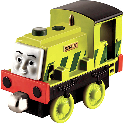 Fisher-Price Thomas & Friends Color Change Engine Scruff, Dirty Mess