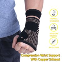 Wrist Hand Brace Support Splint Carpal Tunnel Sprain Gym Sports Protection Tool (1 Pair/M)