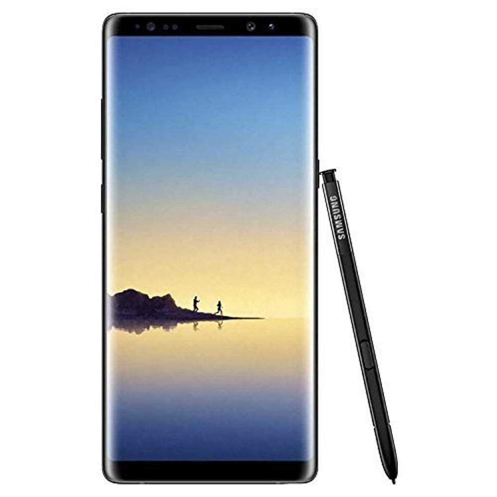"Samsung Galaxy Note8 - Smartphone - 4G LTE - 64 GB - microSDHC slot, - microSDXC slot - CDMA / GSM - 6.3"" - 2960 x 1440 pixels (521 ppi) - Super AMOLED - RAM 6 GB (8 MP front camera) - 2x rear cameras - Android - deepsea blue"