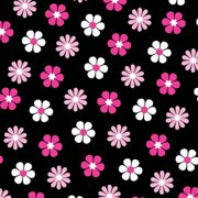 V.I.P by Cranston Tweety Flower Head Fabric, per Yard