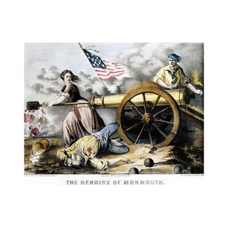 Molly Pitcher (C 1754-1832) Print Wall Art By Currier & Ives Currier & Ives Scene