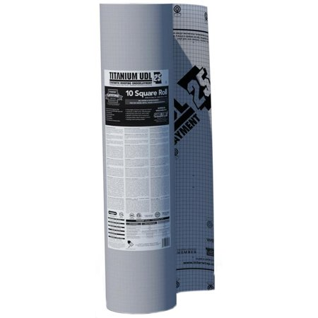 Titanium Single (Titanium UDL 25 Synthetic Underlayment - Single Roll )