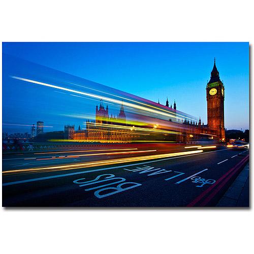 "Trademark Art ""London, Big Ben"" Canvas Art by Nina Papoirek"