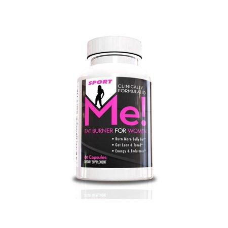Brûleur de graisse pour les femmes-moi! Supplément Fat Sport-ventre brûleur w / Garcinia, 80 capsules, Get Lean et Tone