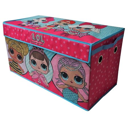 LOL Surprise Soft Collapsible Storage Toy Trunk](Girls Clothes Store)