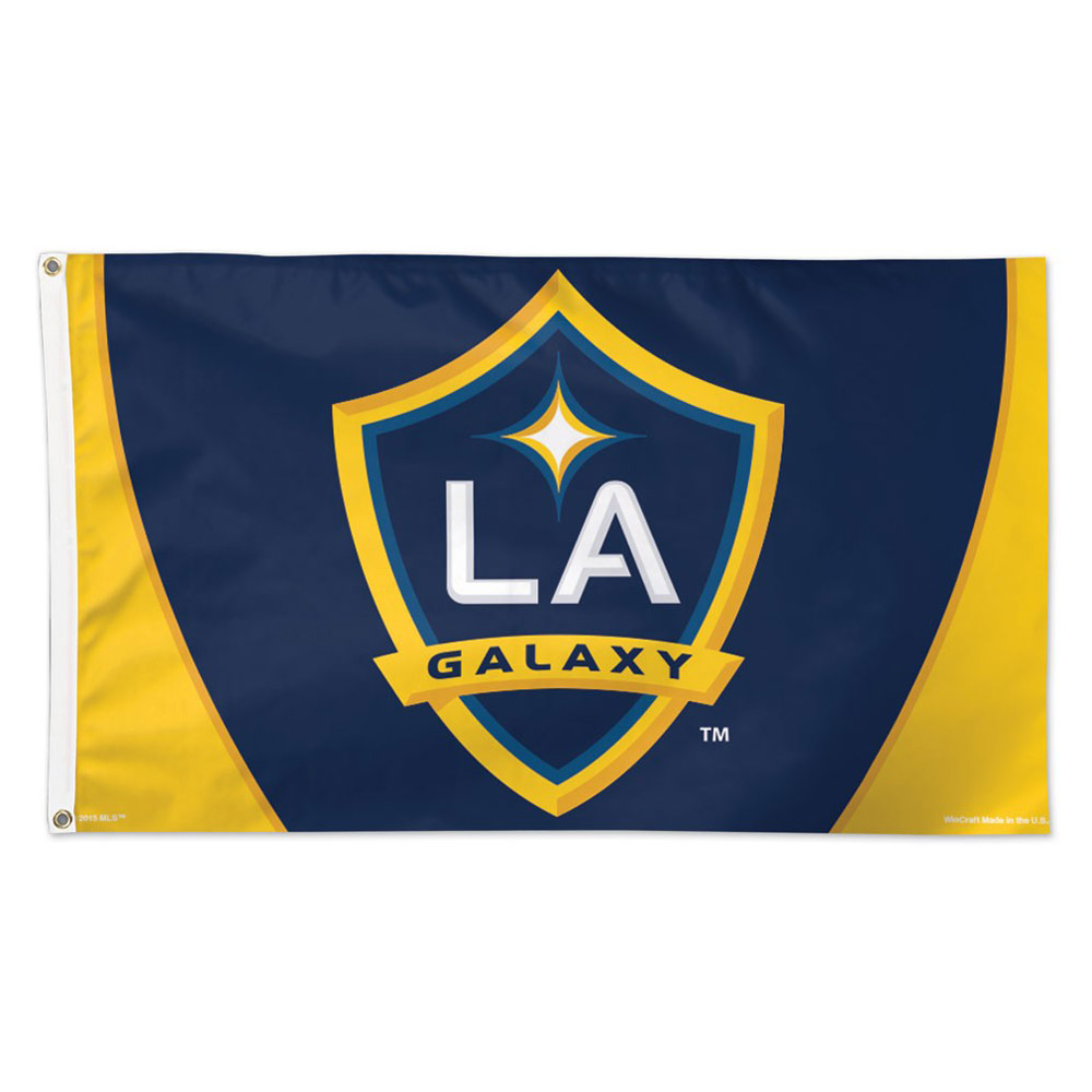 LA Galaxy WinCraft 3' x 5' Deluxe Single-Sided Flag - No Size