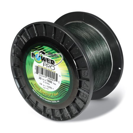 Power Pro PowerPro Braided Line 150 Yards. 50 lbs Tested, 0.014