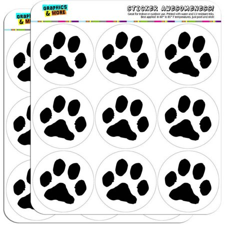 Paw print pet dog cat 18 2 planner calendar scrapbooking crafting stickers
