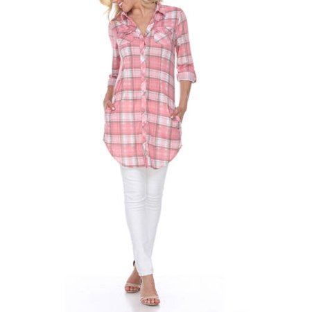 - Women's Piper Plaid Tunic Top