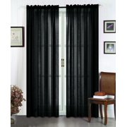 """All American Collection New 2pc High Quality Doli Sheer Curtain 60""""x84"""""""