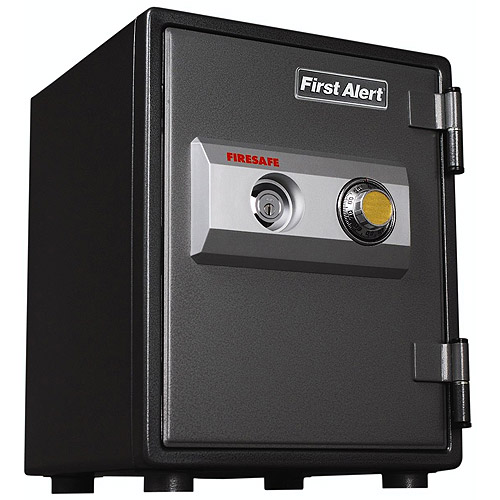 First Alert 2054F Fire and Theft Rated Combination Lock Security Safe