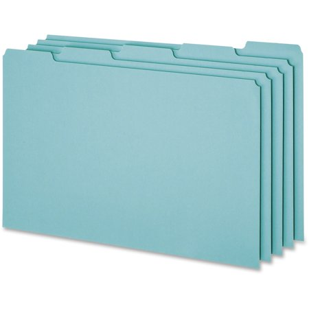 Pendaflex, PFXPN305, 1/5-cut Blank Tab Legal Size File Guides, 50 / Box