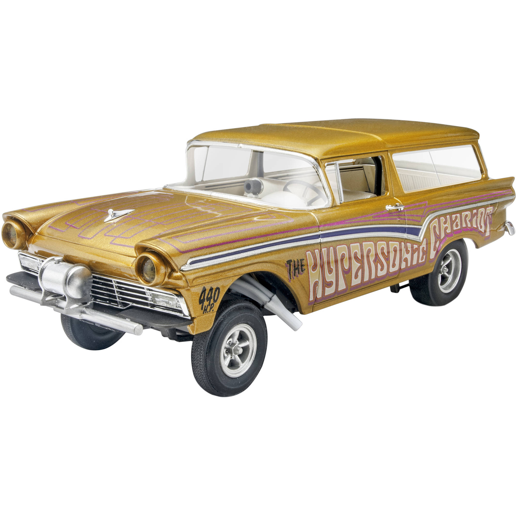 Revell 1:25 '57 Ford Gasser 2'n1 Plastic Model Kit by Revell