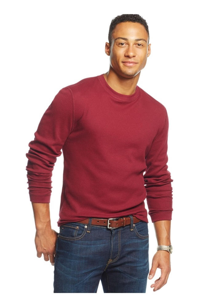 ARTFFEL Mens Long Sleeve Crewneck Knitting Christmas Thermal Pullover Sweaters