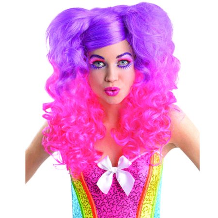 Halloween Curly Ponytails Wig (1ct) - Halloween Pony Tails