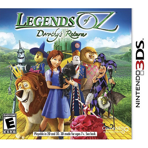 Legends Of Oz Dorthy (Nintendo 3DS)