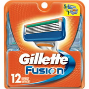 Gillette Fusion Razor Cartridge Refills, 12 count