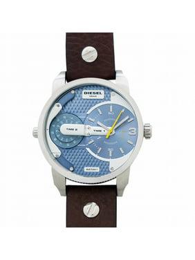 Diesel Men's Mini Daddy DZ7321 Brown Leather Quartz Watch