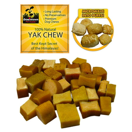 Himalayan Yak Nugget Dog Chew, 100% Natural Dog Chews, Value Pack, by Downtown Pet