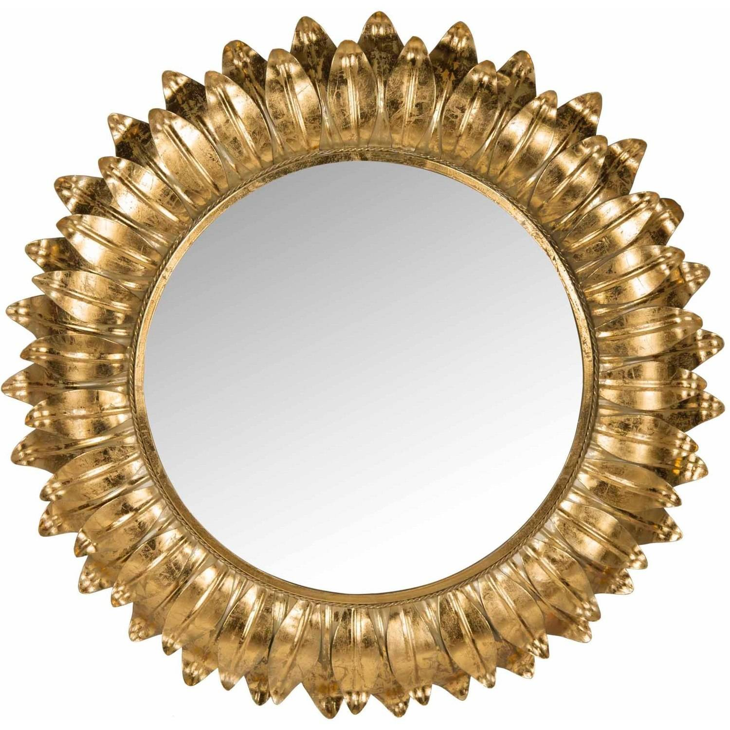Safavieh Arles Sunburst Mirror, Gold Foil