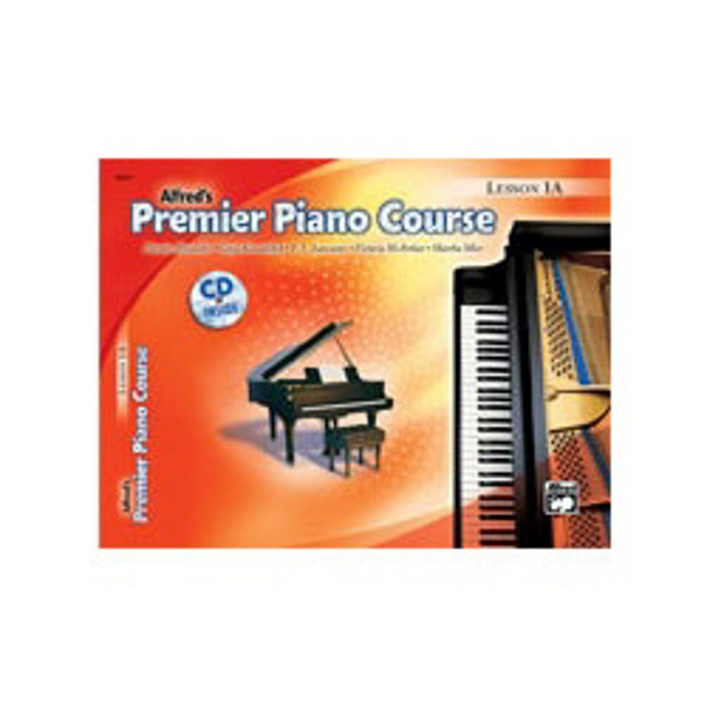 Alfred 00-22356 Premier Piano Course- Lesson Book 1A Music Book by Alfred