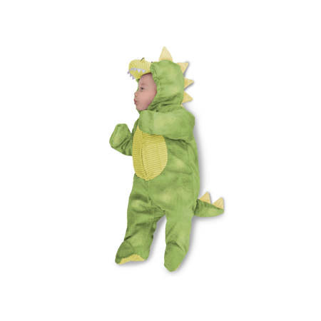 Baby Girl Dinosaur Costume (Baby Sleepy Green Dino)