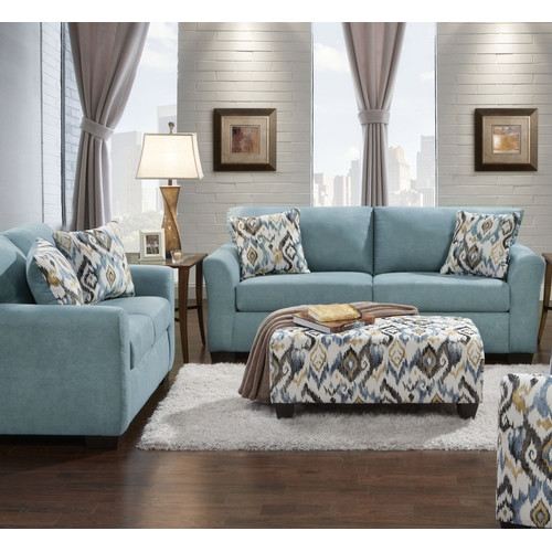 World Menagerie Easthampton Sofa and Loveseat Set