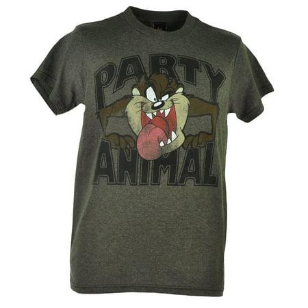 Looney Tunes Tasmanian Devil Taz Party Animal Distressed
