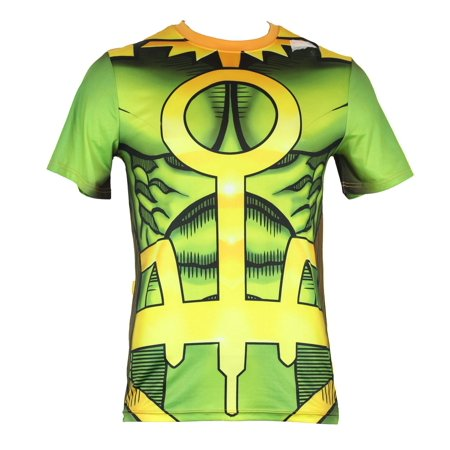 Costume Loki (Thor (Marvel Comics) Mens T-Shirt - Loki sublimation Style Costume Front)