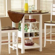 Sunset Trading Cascade Cream & Espresso Pub Table by Sunset Trading