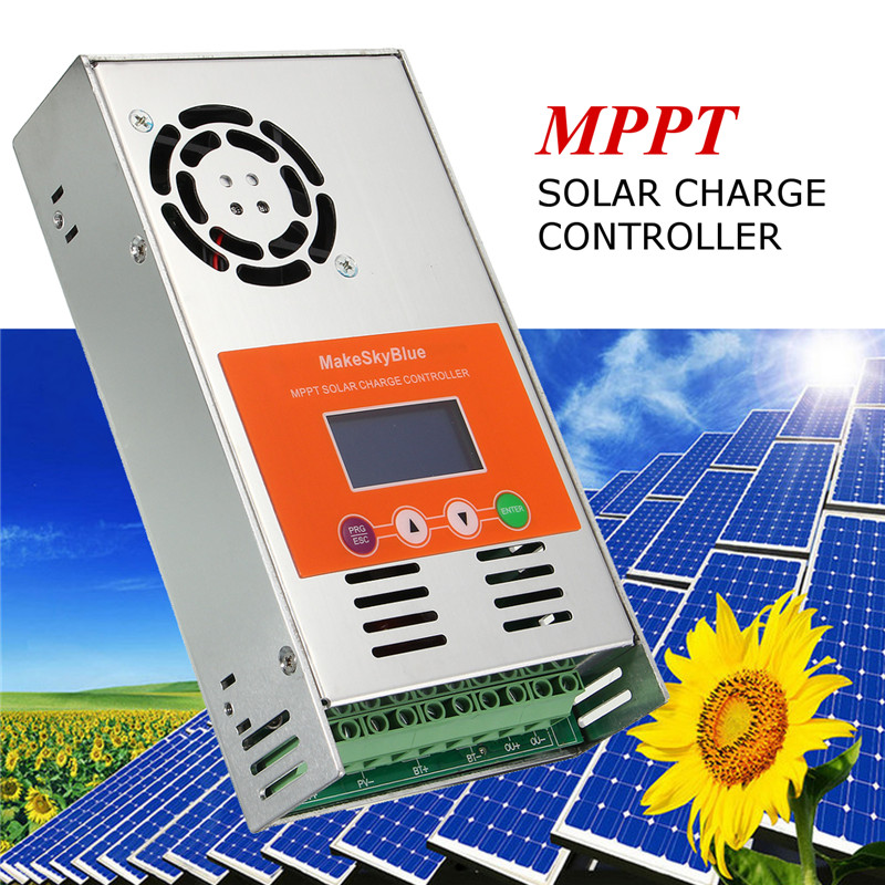 MUSTOOL 40A MPPT Solar Charge Controller Regulator For 12...