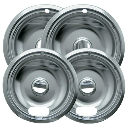 Range Kleen Drip Bowl, 4 Piece, 8 in and 6