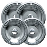 Range Kleen Drip Bowl, 4 Piece, 8 in and 6 in
