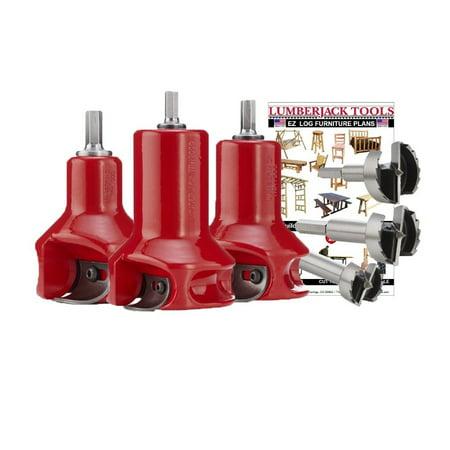 Lumberjack Tools HSK3 Home Series Master Kit - Radius Shoulder - Home Kits