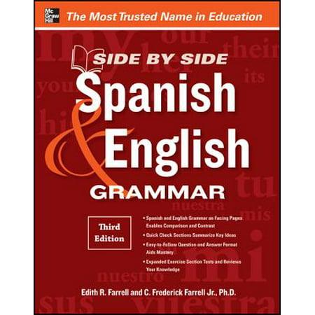 Side by Side Spanish & English Grammar
