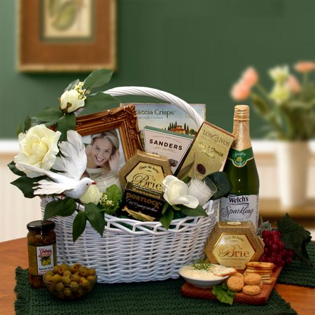 Gift Basket 87012 Wedding Wishes Gift Basket](Wedding Baskets)