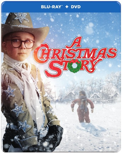 A Christmas Story (30th Anniversary) (Blu-ray + DVD + Digital HD) (Steelbook Packaging) by WARNER HOME VIDEO