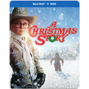 A Christmas Story (30th Anniversary) (Blu-ray + DVD + Digital HD) (Steelbook Packaging) by WARNER HOME ENTERTAINMENT