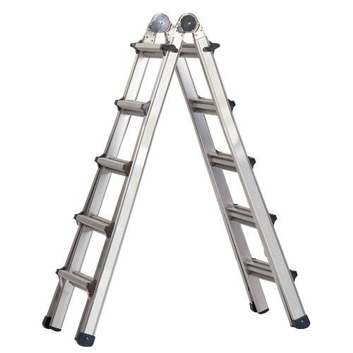 WFX Utility 17 ft Aluminum Multi-Position Ladder