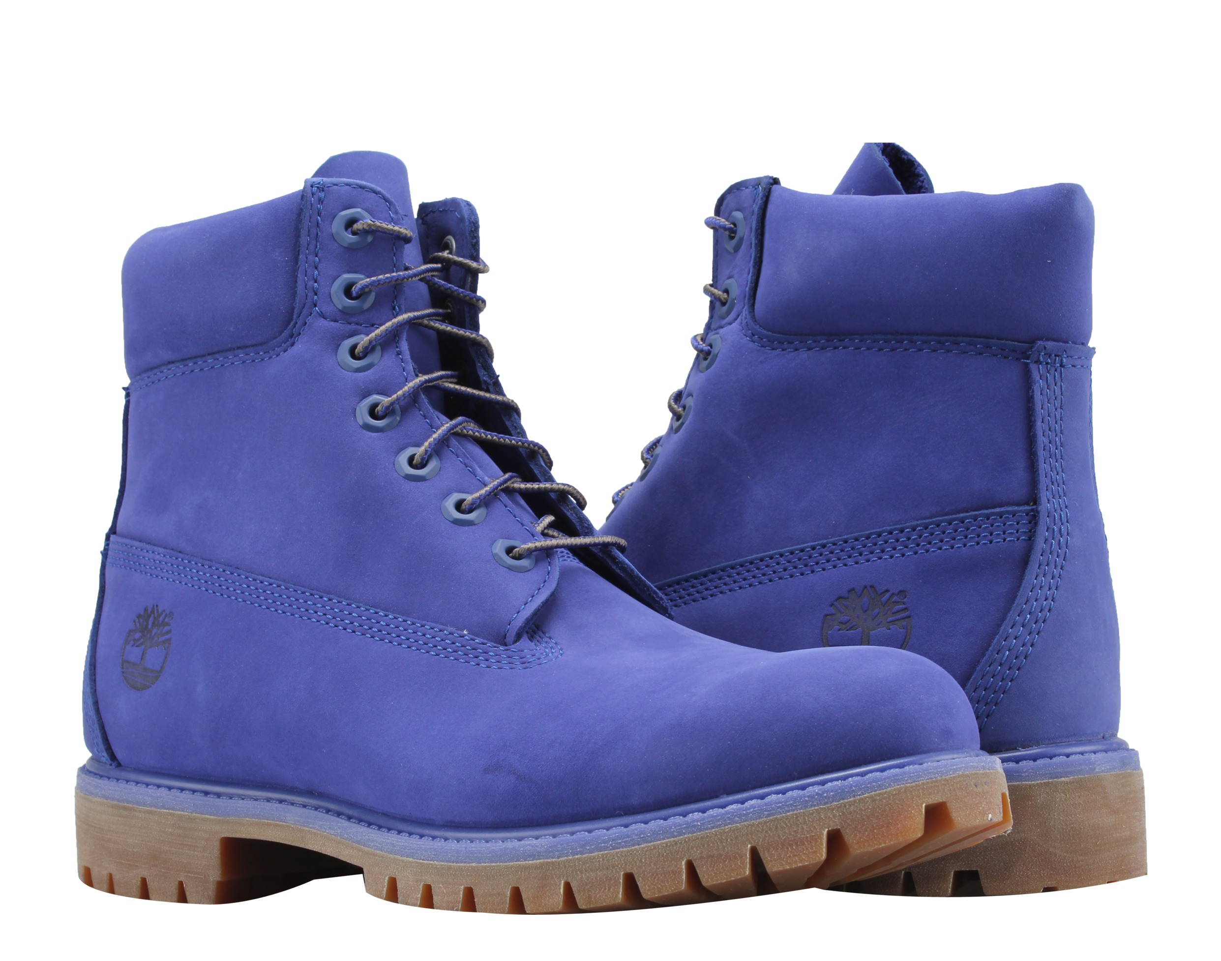 Timberland 6-Inch Premium Waterproof Blue Violet Haze Limited Men's Boots A1P5U by