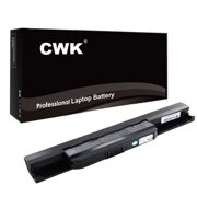 CWK® New Replacement Laptop Notebook Battery for ASUS K53 K53E X54C X53S X53 K53S X53E Asus X53E-Xr1 X53E-Xr2 X53E-Xr3 X53E-Xr31 X53E-XR1 X53E-XR2 X53E-Xr32 ASUS X53E X53Q X53S X53Sa X53Sc A32-K53
