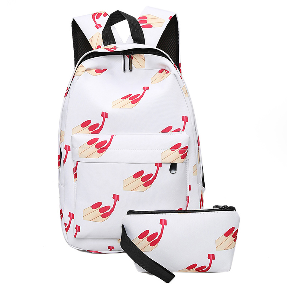 Coofit Cartoon Emoji Laptop Backpack School Bag Travel Rucksack Backpacks for Women Girls Kids