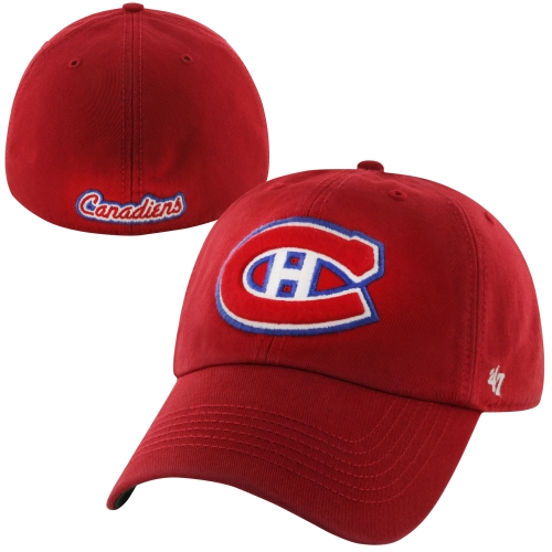 Montreal Canadiens '47 Brand Franchise Fitted Hat - Red - S